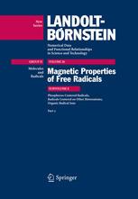 Phosphorus-Centered Radicals, Radicals Centered on Other Heteroatoms, Organic Radical Ions. Part 2