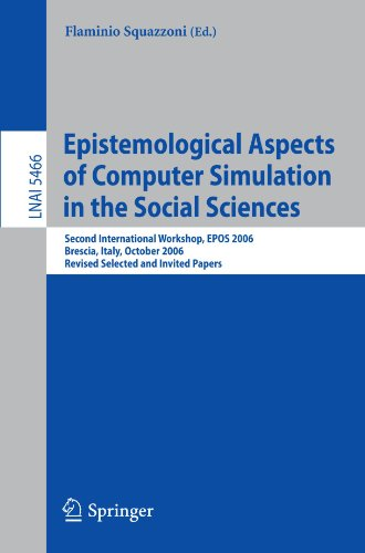 Epistemological Aspects of Computer Simulation in the Social Sciences: Second International Workshop, EPOS 2006, Brescia, Italy, October 5-6, 2006, ..