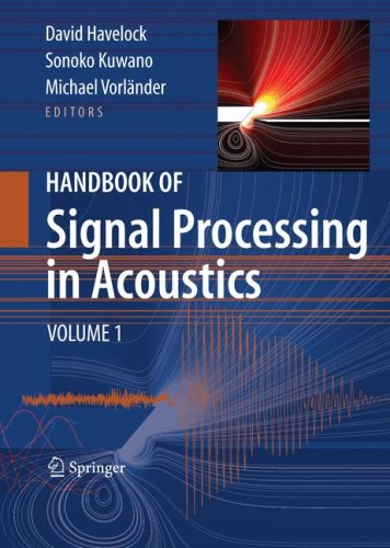 Handbook of Signal Processing in Acoustics 2 vol set