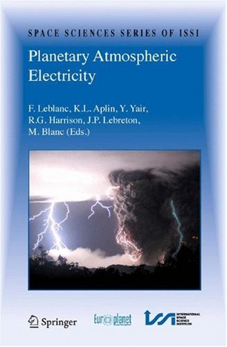 Planetary Atmospheric Electricity (Space Sciences Series of ISSI)
