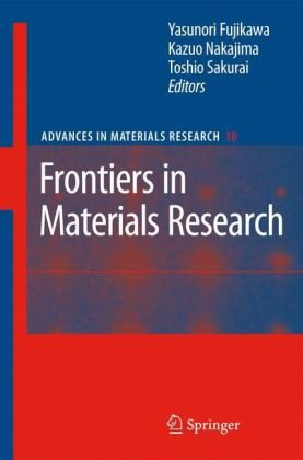 Frontiers in Materials Research (Advances in Materials Research)