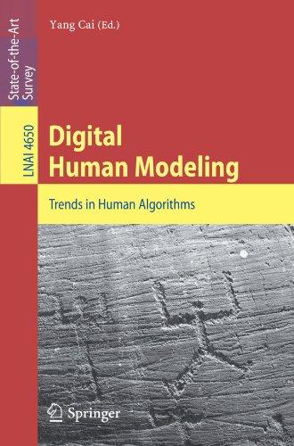 Digital Human Modeling: Trends in Human Algorithms