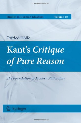 Kants Critique of Pure Reason: The Foundation of Modern Philosophy