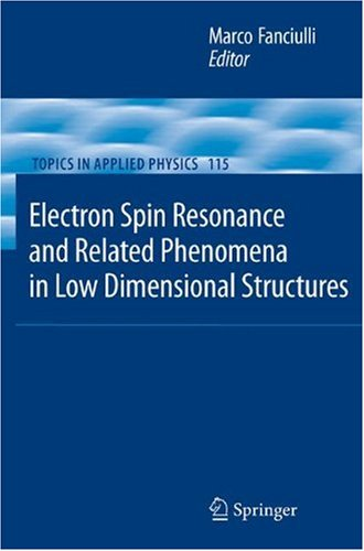 Electron Spin Resonance and Related Phenomena in Low-Dimensional Structures