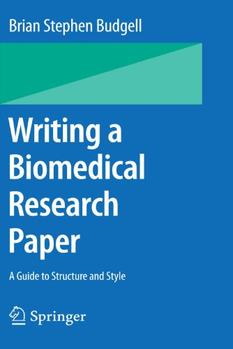 Writing a Biomedical Research Paper: A Guide to Structure and Style