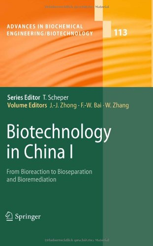 Biotechnology in China I: From Bioreaction to Bioseparation and Bioremediation