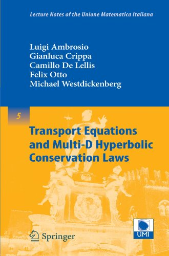 Transport equations and multi-D hyperbolic conservation laws