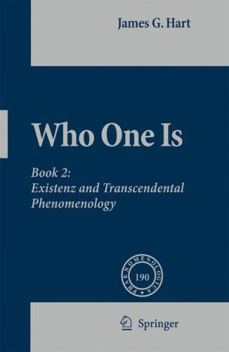 Who One Is: Existenz and Transcendental Phenomenology