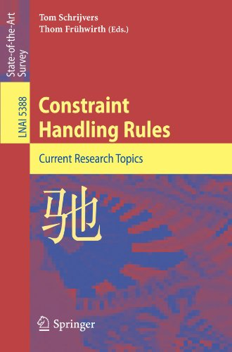 Constraint Handling Rules: Current Research Topics