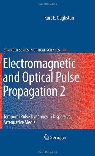 Electromagnetic and Optical Pulse Propagation 2: Temporal Pulse Dynamics in Dispersive, Attenuative Media