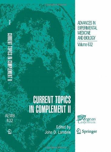Current Topics in Complement II