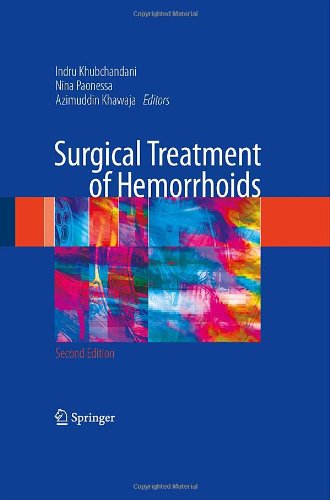 Surgical Treatment of Hemorrhoids