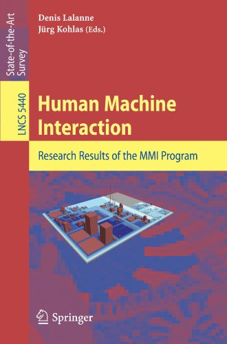 Human Machine Interaction: Research Results of the MMI Program