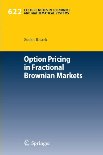 Option Pricing in Fractional Brownian Markets