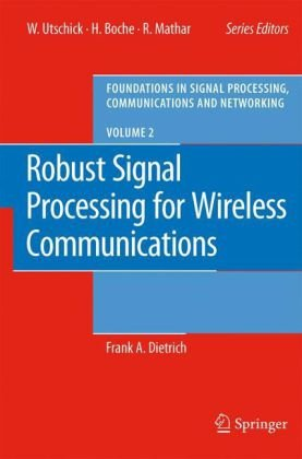 Robust Signal Processing for Wireless Communications