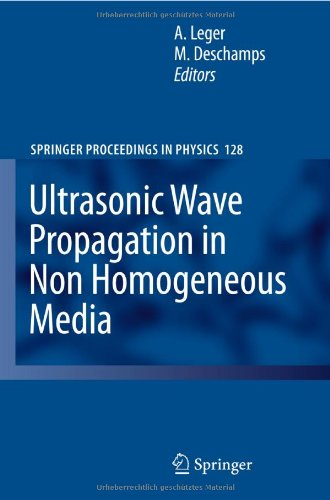 Ultrasonic Wave Propagation in Non Homogeneous Media