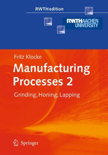 Manufacturing Processes 2: Grinding, Honing, Lapping
