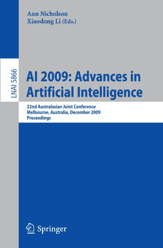 AI 2009: Advances in Artificial Intelligence: 22nd Australasian Joint Conference, Melbourne, Australia, December 1-4, 2009. Proceedings