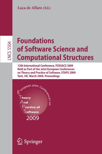 Foundations of Software Science and Computational Structures: 12th International Conference, FOSSACS 2009, Held as Part of the Joint European Conferen