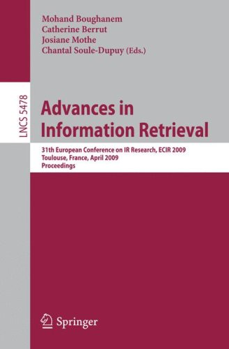 Advances in Information Retrieval: 31th European Conference on IR Research, ECIR 2009, Toulouse, France, April 6-9, 2009. Proceedings