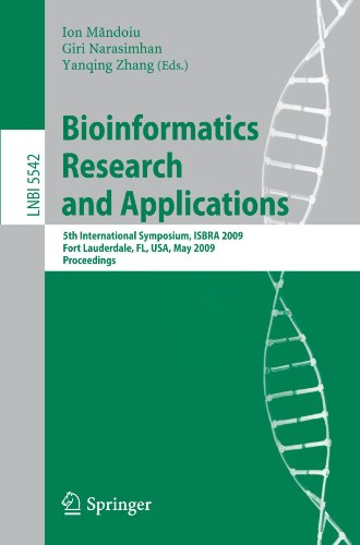 Bioinformatics Research and Applications: 5th International Symposium, ISBRA 2009 Fort Lauderdale, FL, USA, May 13-16, 2009 Proceedings