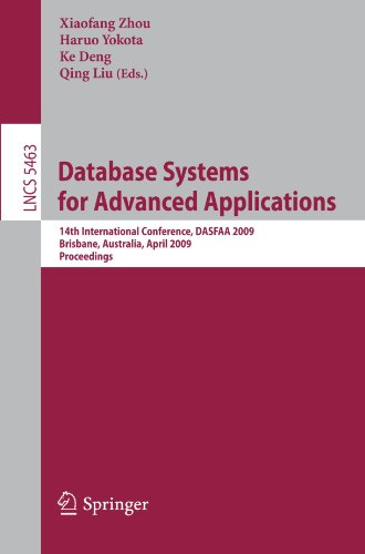 Database Systems for Advanced Applications: 14th International Conference, DASFAA 2009, Brisbane, Australia, April 21-23, 2009. Proceedings