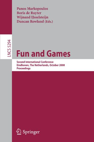 Fun and Games: Second International Conference, Eindhoven, The Netherlands, October 20-21, 2008. Proceedings