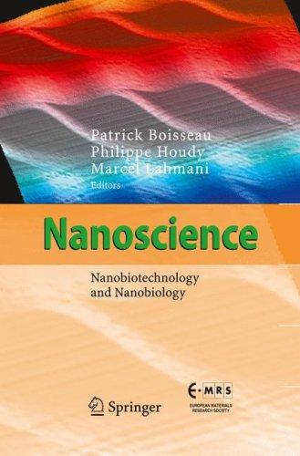 Nanoscience: Nanobiotechnology and Nanobiology