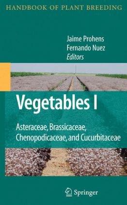 Vegetables I: Asteraceae, Brassicaceae, Chenopodicaceae, and Cucurbitaceae