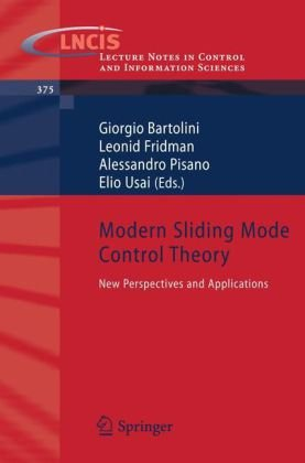 Modern Sliding Mode Control Theory: New Perspectives and Applications
