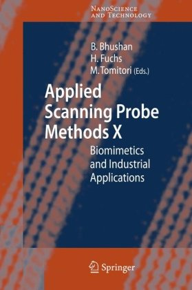 Applied scanning probe methods X: biomimetics and industrial applications