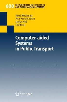Computer-Aided Systems in Public Transport