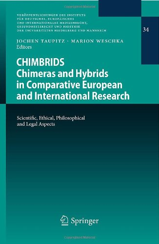 CHIMBRIDS - Chimeras and Hybrids in Comparative European and International Research: Scientific, Ethical, Philosophical and Legal Aspects