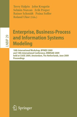Enterprise, Business-Process and Information Systems Modeling: 10th International Workshop, BPMDS 2009, and 14th International Conference, EMMSAD 2009