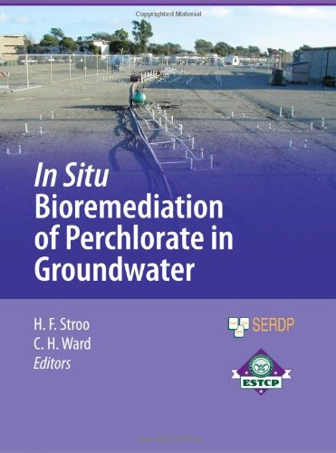 In Situ Bioremediation of Perchlorate in Groundwater (SERDP ESTCP Environmental Remediation Technology)
