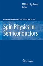 Spin Physics in Semiconductors