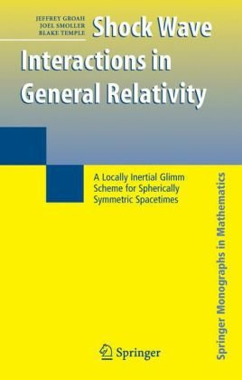 Shock wave interactions in general relativity: a locally intertial glimm scheme for spherically symmetric spacetimes
