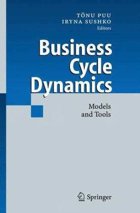 Business Cycles Dynamics: Models and Tools