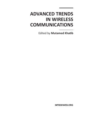 Advanced Trends in Wireless Communications