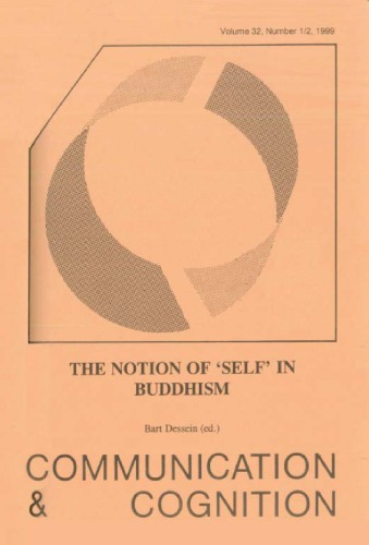 The Notion of 'Self' in Buddhism (Communication and Cognition 32, 12, 1999)