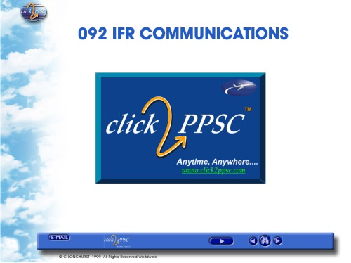 IFR Communications Tutorial - PPSC