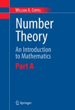 Number Theory: An Introduction to Mathematics: Part A