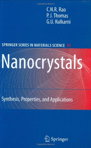 Nanocrystals:: Synthesis, Properties and Applications