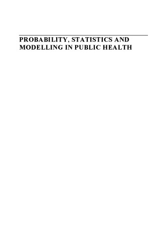 Probability, statistics, and modelling in public health