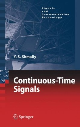 Continuous-Time Signals (Signals and Communication Technology)