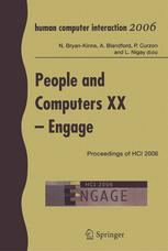 People and Computers XX — Engage: Proceedings of HCI 2006
