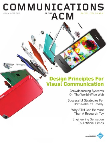 Communications of ACM , vol 54 issue 4 - April 2011