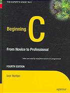 Beginning C : from novice to professional