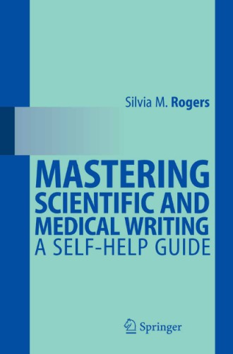 Mastering scientific and medical writingq