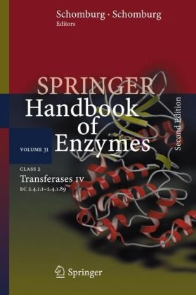 Class 2 Transferases IV: EC 2.4.1.1 - 2.4.1.89 (Springer Handbook of Enzymes)